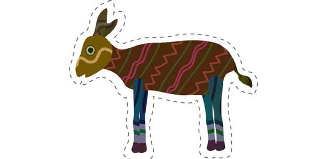 Goat (Cut-out for Kids)