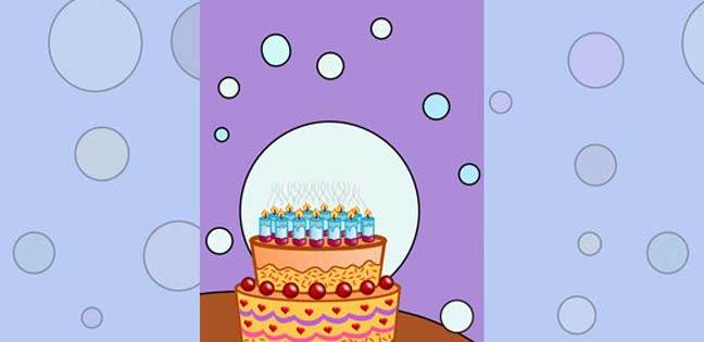 Cake (Printable Card for Kids)