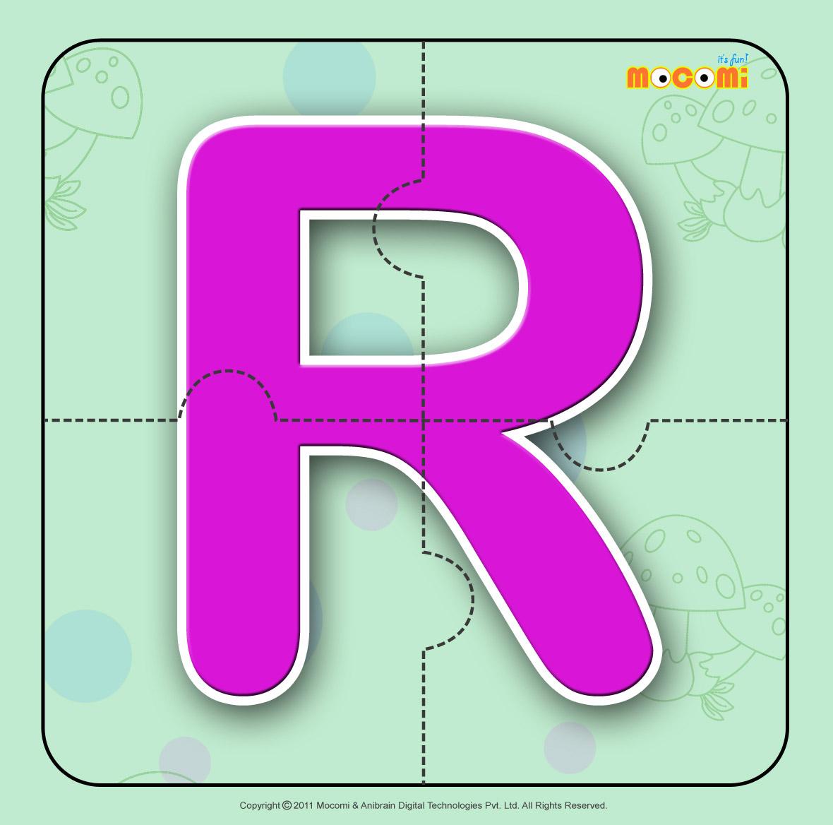 Alphabet R