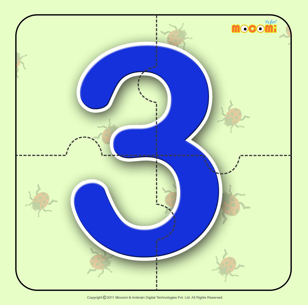 Number – Three 3