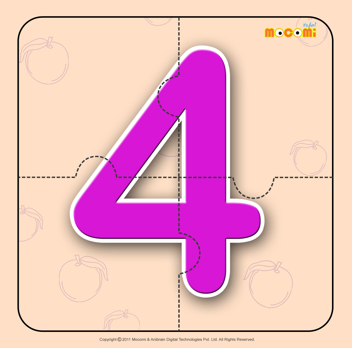 Number – Four 4
