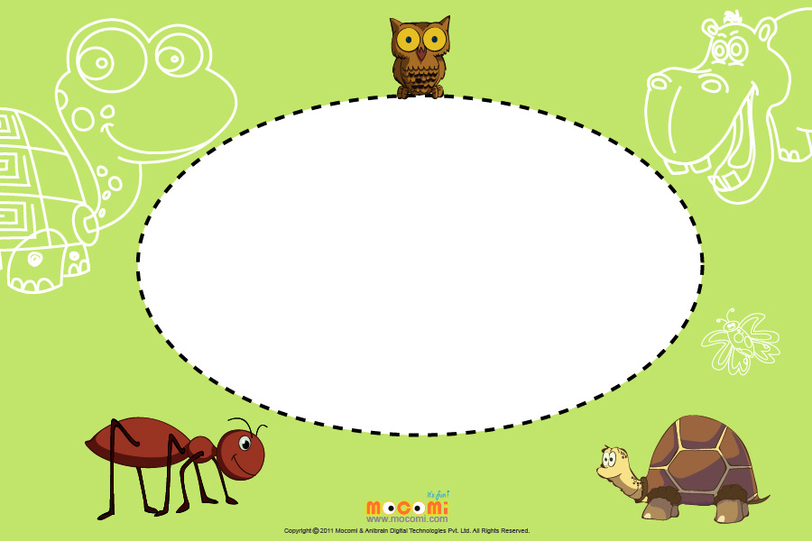 Ants (Photo Frame for Kids)