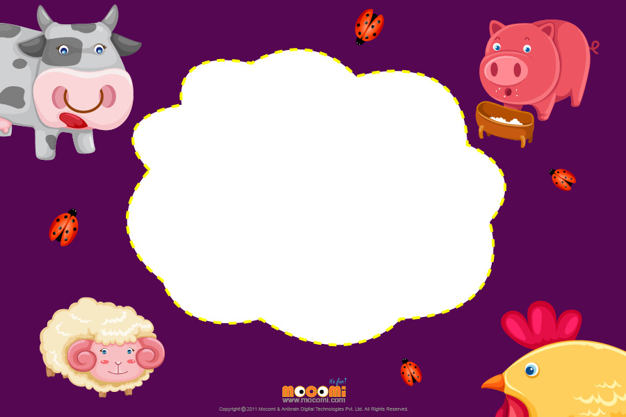 Cute pig (Photo Frame for Kids)