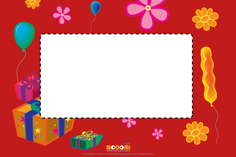 Party theme (Photo Frame for Kids)