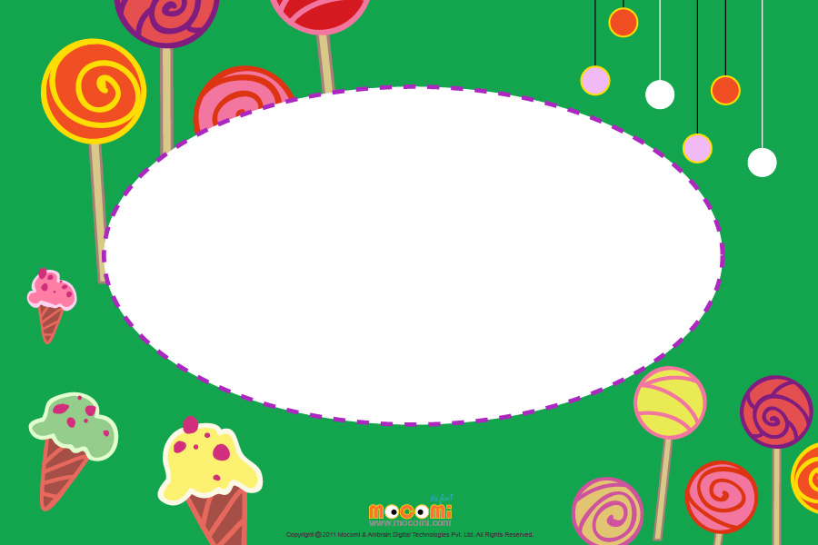 Ice Cream (Photo Frame for Kids)