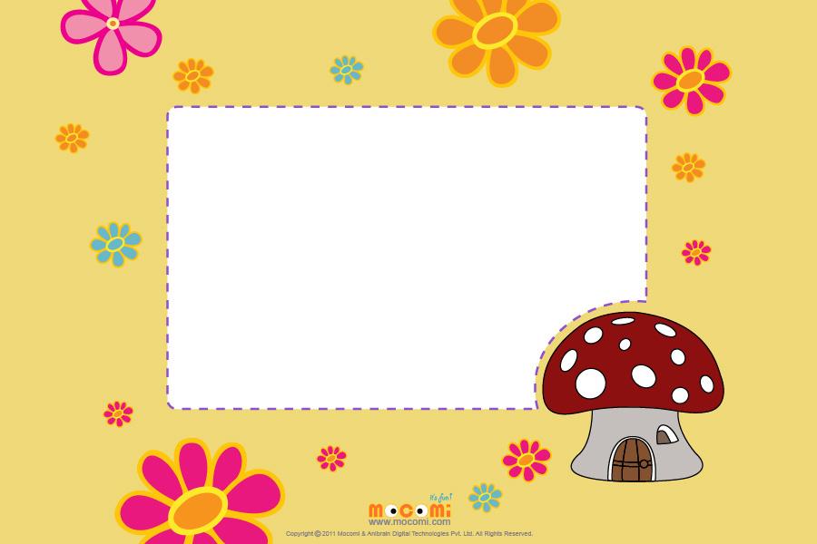 Mushroom (Photo Frame for Kids)