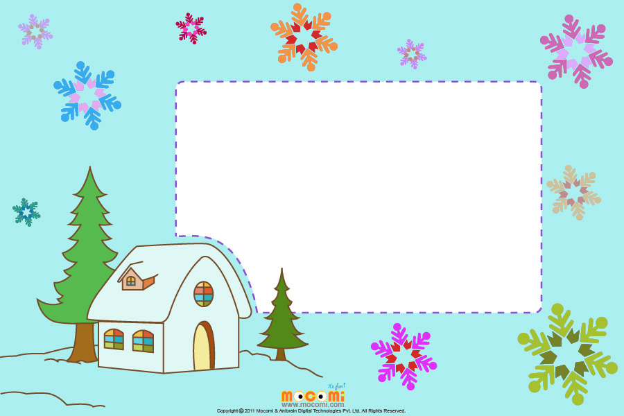Christmas At Home (Photo Frame for Kids)
