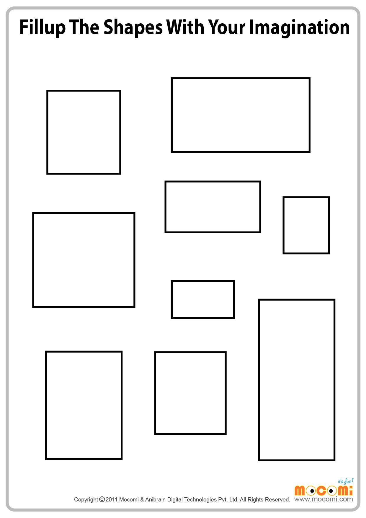 Imagining shapes (III)