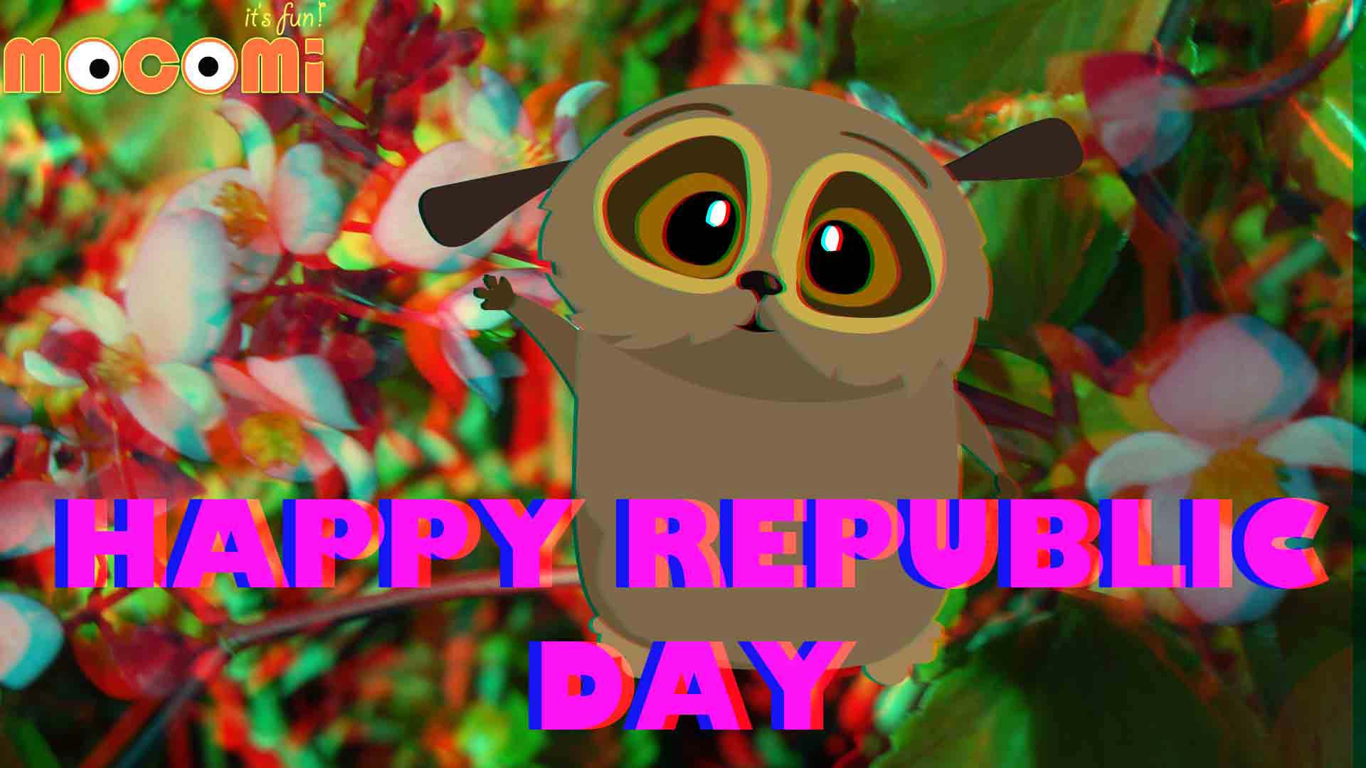 Loris says Happy Republic Day