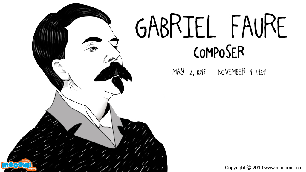 Gabriel Faure Biography
