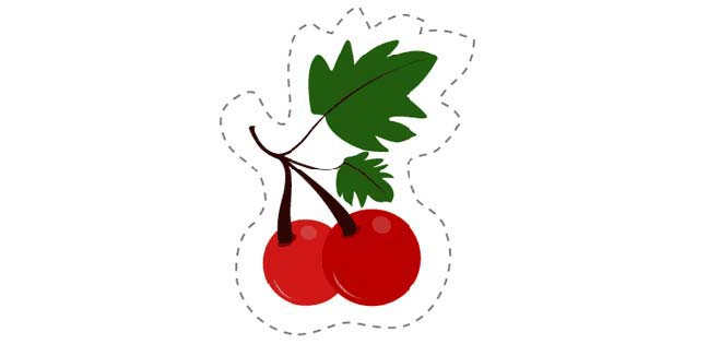 Cherry (Cut-out for Kids)