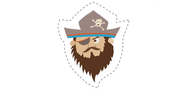 Pirate (Cut-out for Kids)