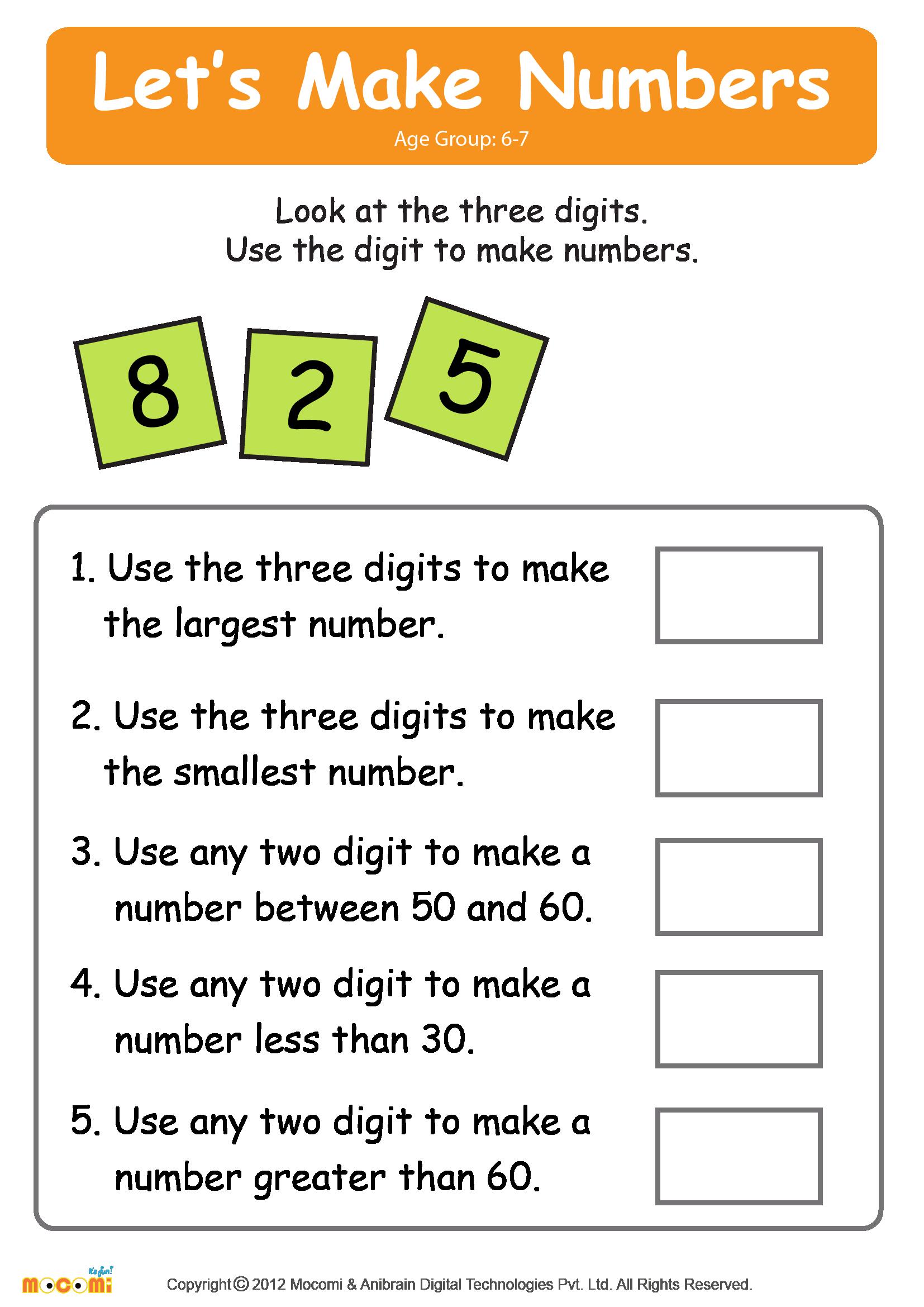 Make Numbers – 02