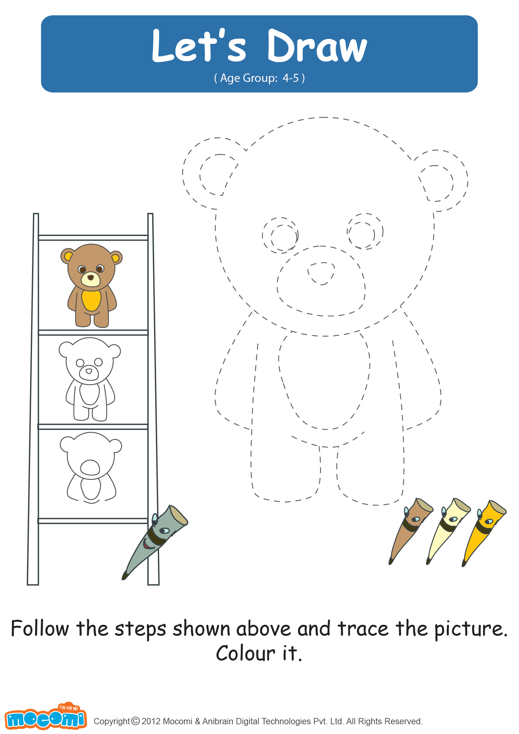 Let's Draw a Teddy