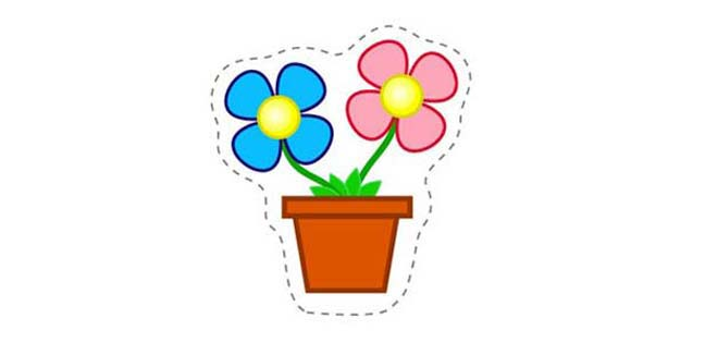 Flowers (Cut-out for Kids)