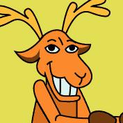 Reindeer (Photo Frame for Kids)