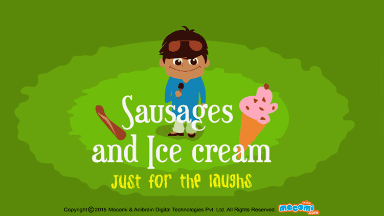 Sausages and Ice Cream