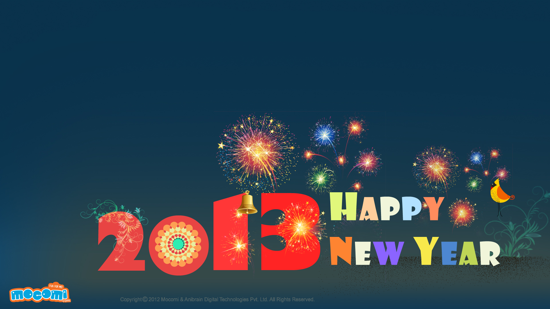 Happy New Year 2013 – 01