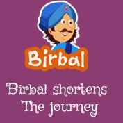 Akbar Birbal: Birbal Shortens The Journey