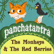 Panchatantra: The Monkeys And The Red Berries
