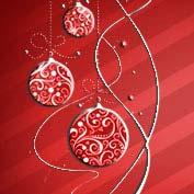 Merry Christmas- Shiny Ornaments