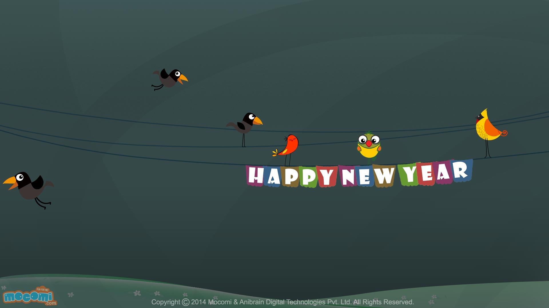 Happy New Year Wallpaper- 1