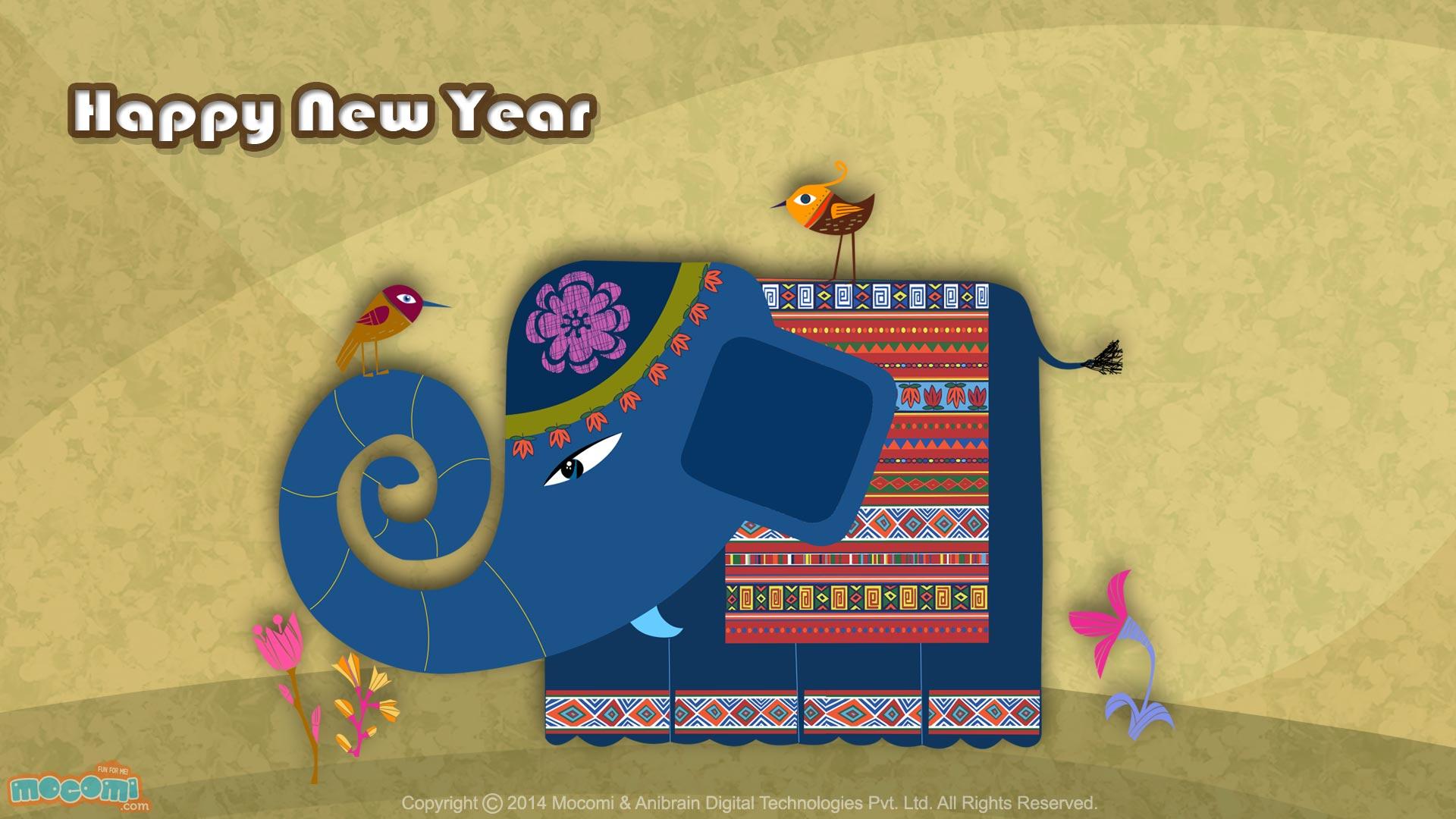 Happy New Year Wallpaper- 15