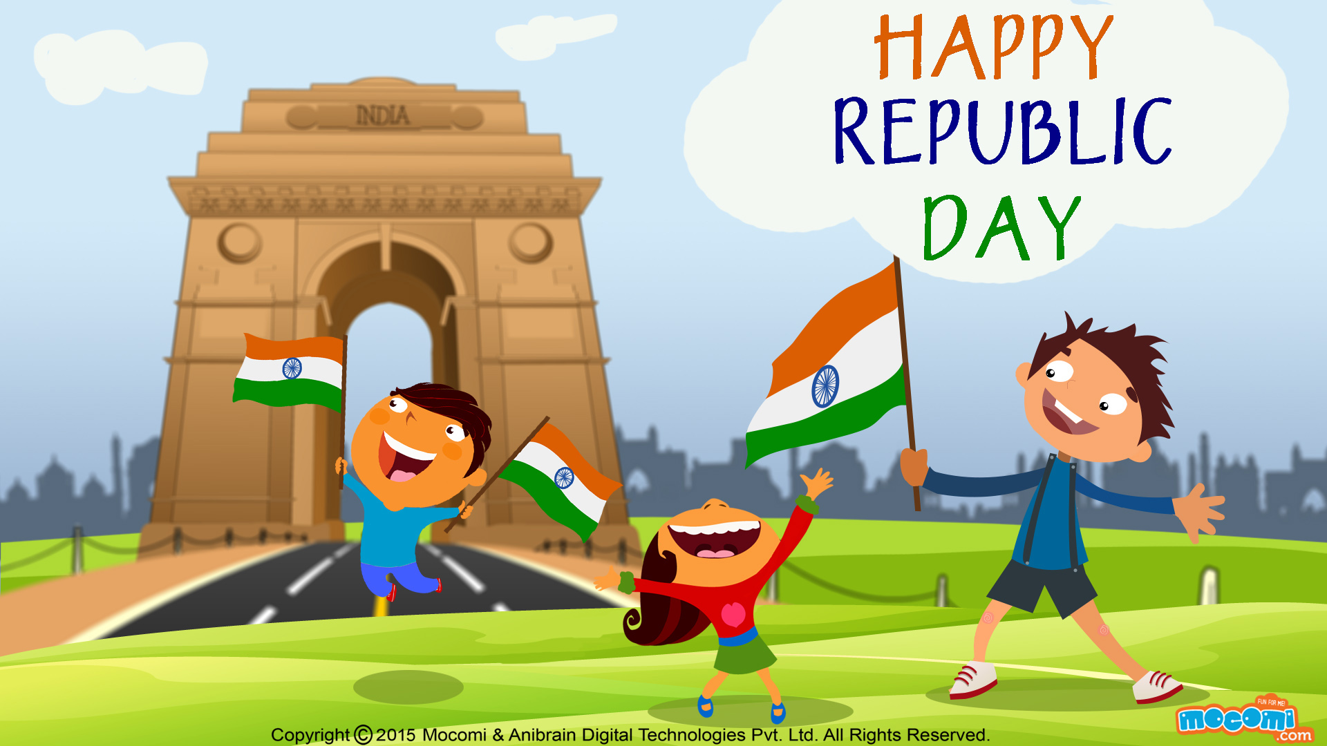 Happy Republic Day Wallpaper – 8
