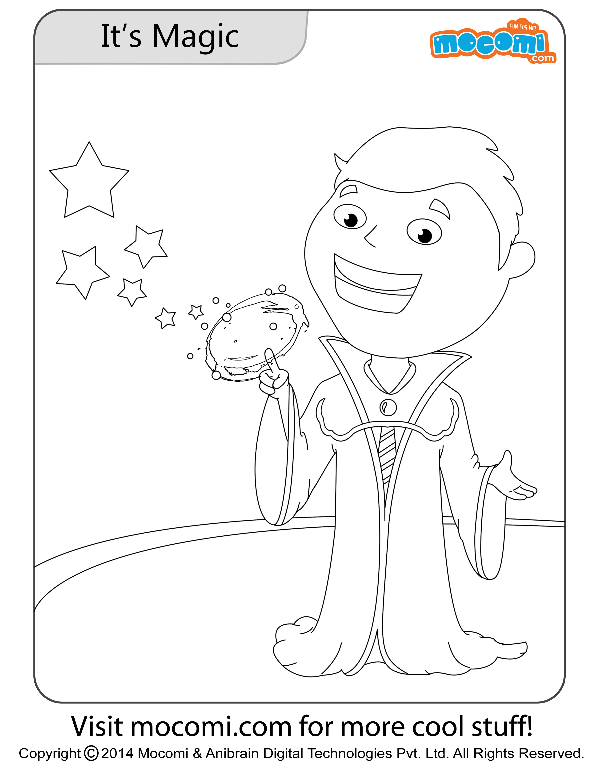 Jojo and Tricks Go Together – Colouring Page