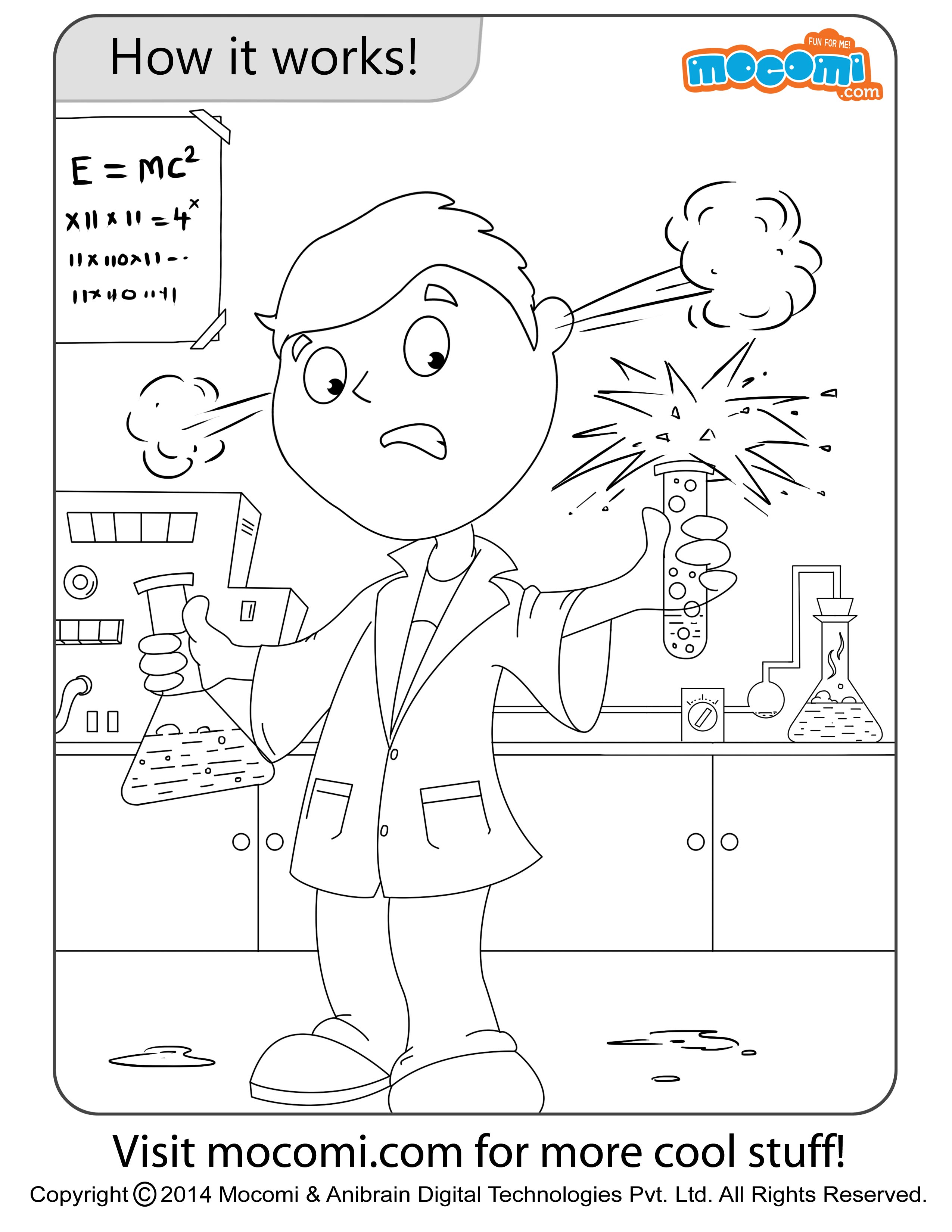 How It Works – Jojo Colouring Page