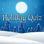 Christmas Holiday Quiz
