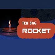 Tea Bag Rocket Experiment