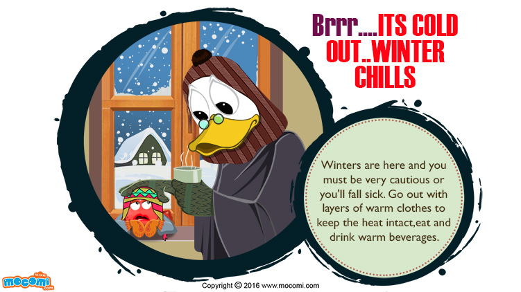 Brrr….It's Cold Out..Winter Chills