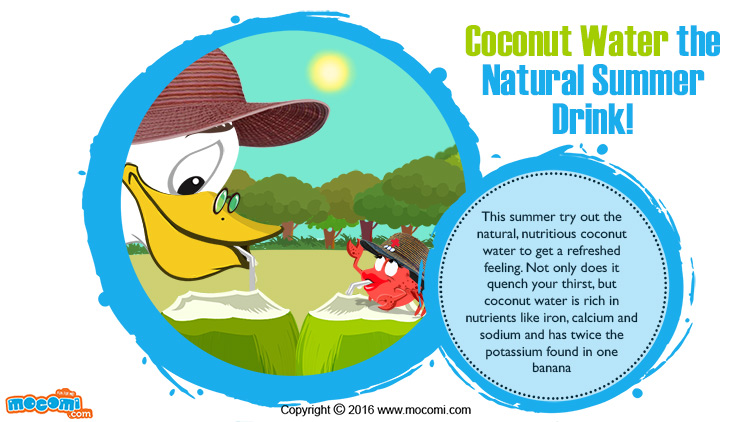 Coconut Water the Natural Summer Drink!