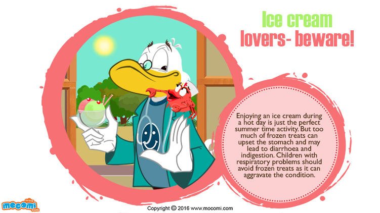 Ice Cream Lovers  – Beware!