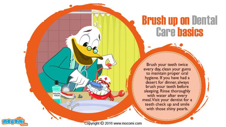 Brush up on Dental Care basics