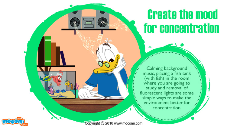 Create the Mood for Concentration