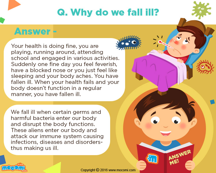 Why do we fall ill?