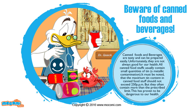 Beware of Canned Foods and Beverages!