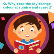 Why does the Sky change Colours?