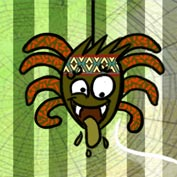 African Folk Tales: Why Anansi has eight thin legs