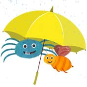 Avoid getting drenched in the rain!