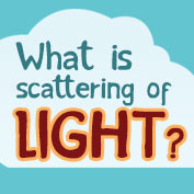 What is scattering of light?