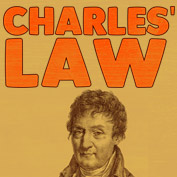 What is Charles' Law?