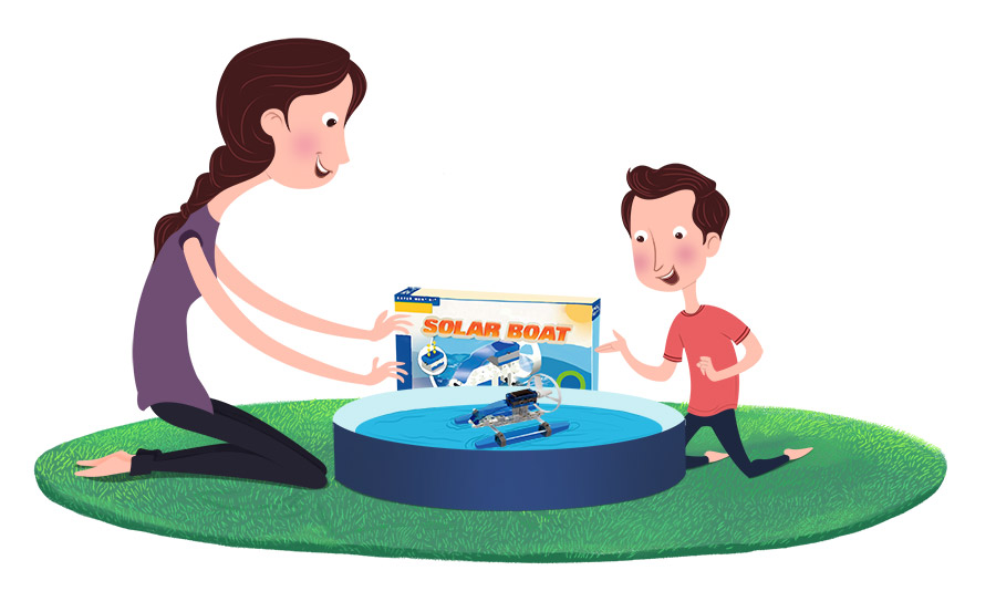 Solar Boat – Toy Review